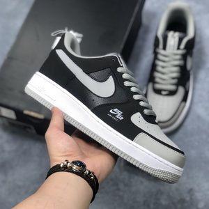 Nike air force 1 gray men sneakers